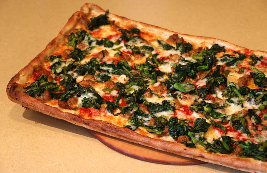 and broccoli rabe pie famous broccoli rabe pie broccoli rabe egg pizza ...