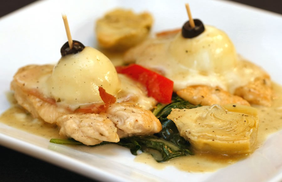Cafe Sitaly's Chicken Saltimbocca | Best Italian Restaurant Wilmington, Delaware|