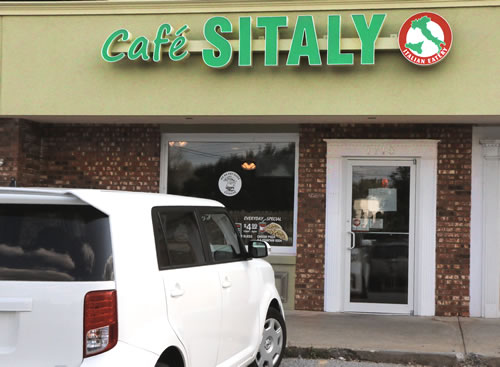 cafe sitaly wilmingtonn delaware front sign