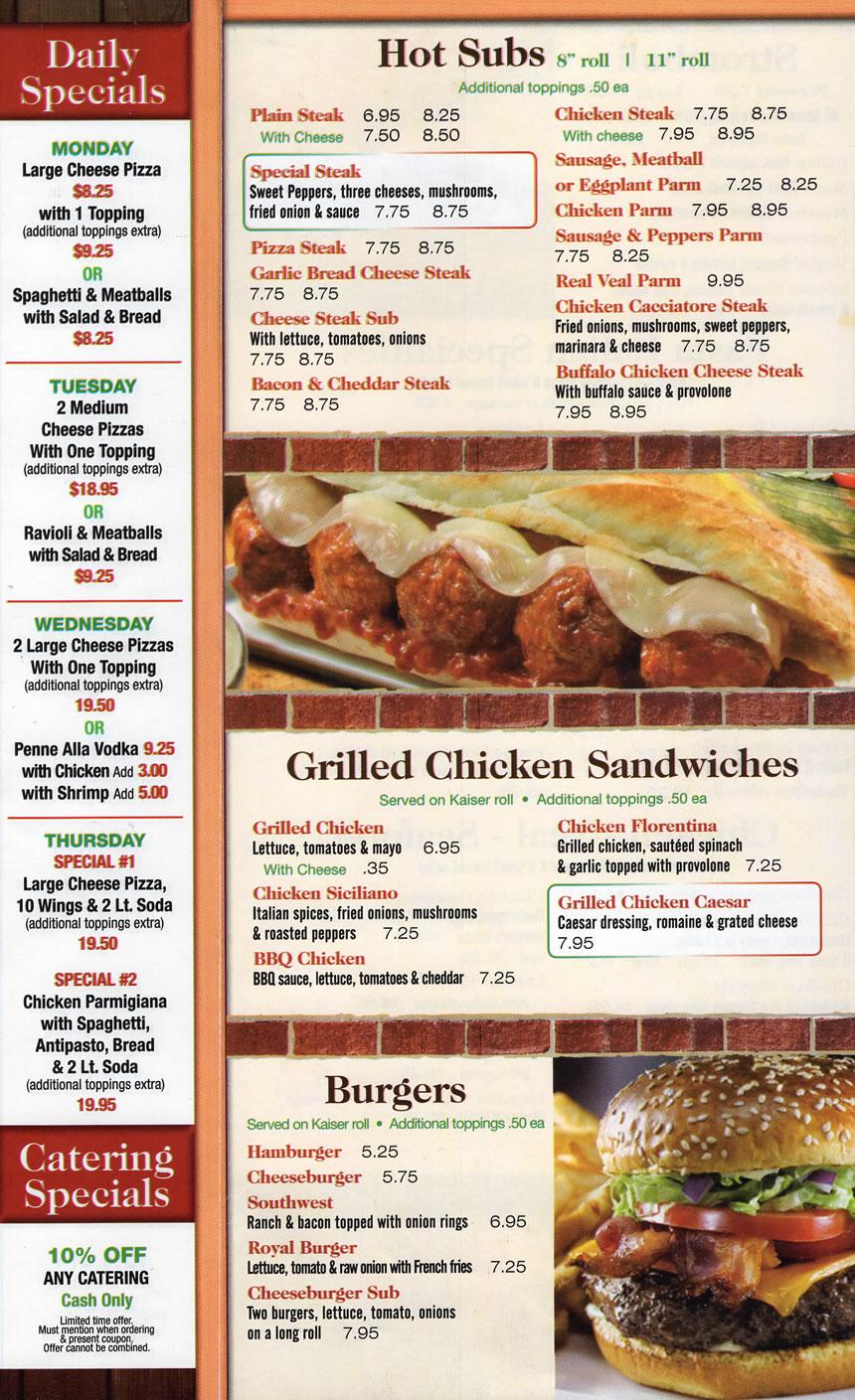 Panini's. Sandwiches, Burgers
